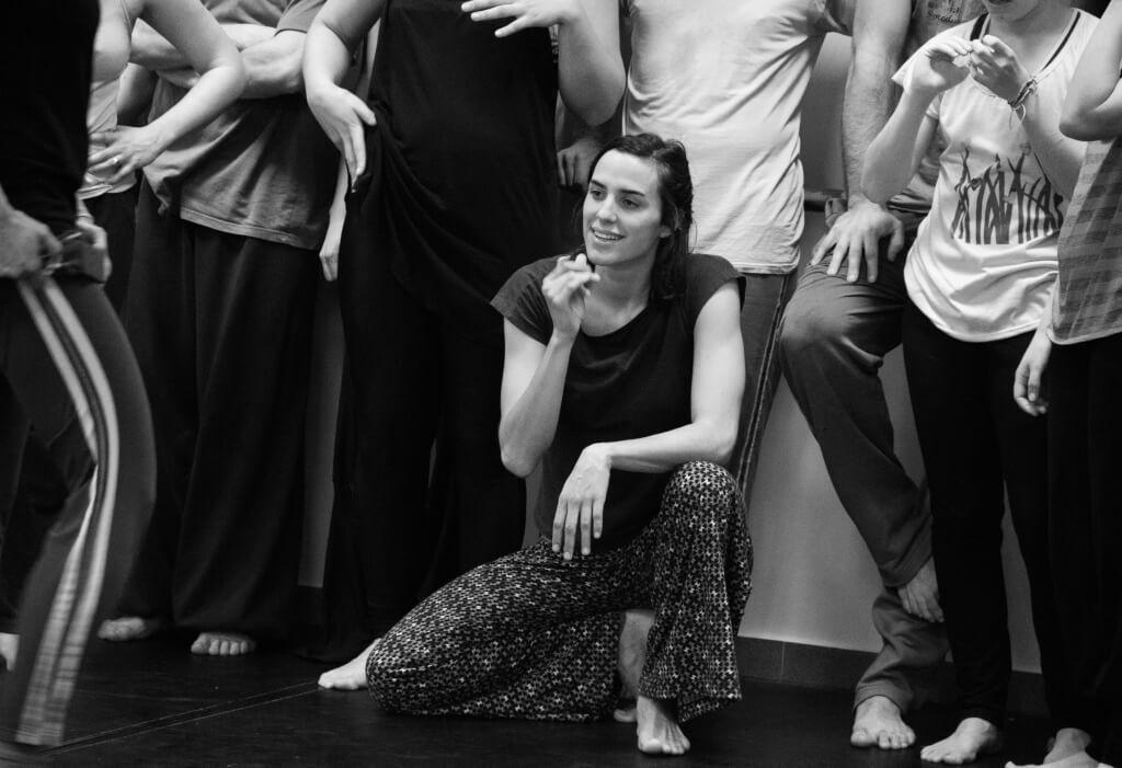 Danza contemporánea:  Por dentro