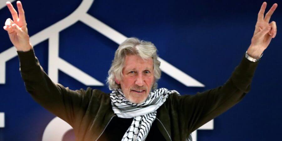 """Roger Waters en el PIT CNT: """"Estamos aquí para hablar de Palestina y del BDS"""" por Leonardo Flamia"""